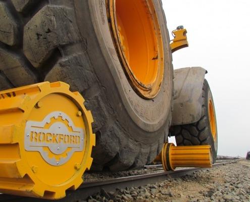 Rail-Bound Wheel Loader