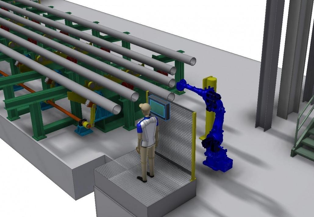 OCTG & Line Pipe Material Handling – Rockford Engineering Works Ltd